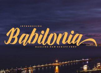 Babilonia Font