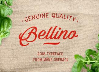 Bellino Font Family