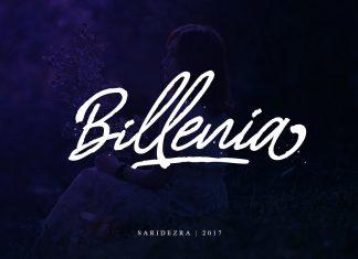 Billenia - Script Font