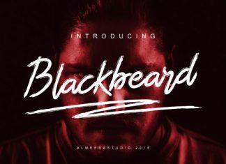 Blackbeard Font