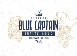 BLUE CAPTAIN TYPEFACE