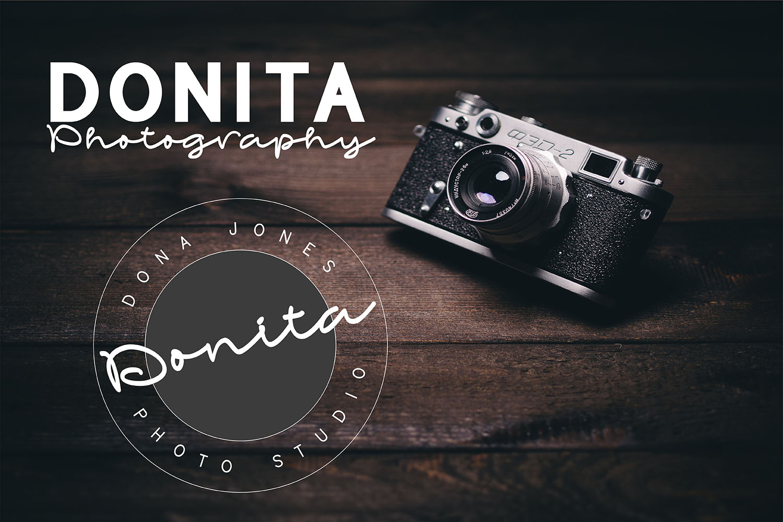 Bonandito Thing Font Duo Script Font