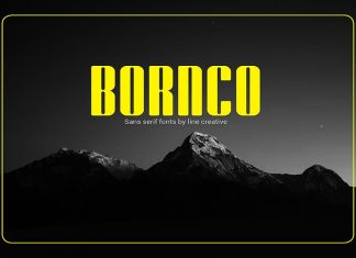 Bornco Font