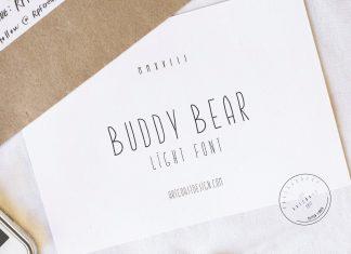 Buddy Bear Font