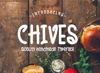 Chives Script Font