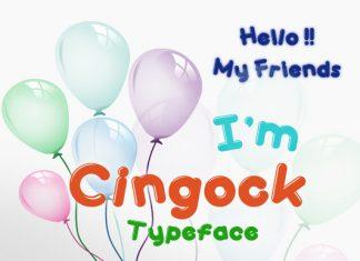 Cingock Font