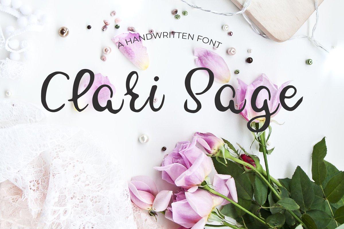 Clari Sage Font