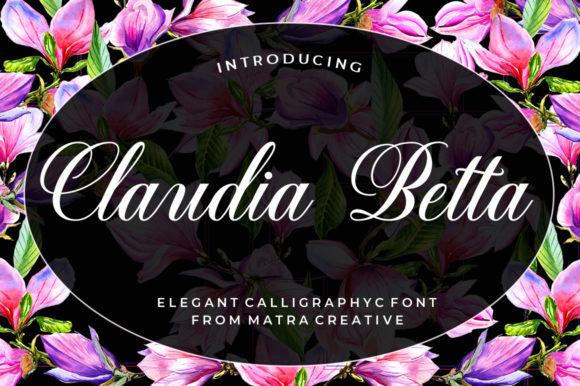Claudia Betta Font