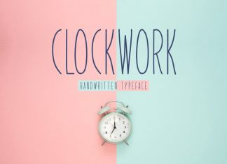 Clockwork Typeface Font