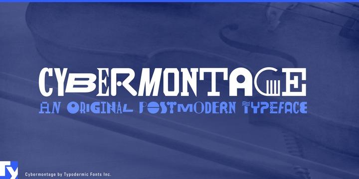 Cybermontage Font