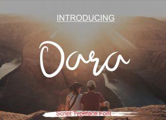 Dara Script Font
