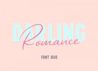 Darling Romans Font