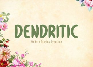 Dendritic Typeface Font