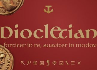 Diocletian Typeface Font