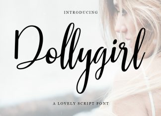 Dollygirl Script Font