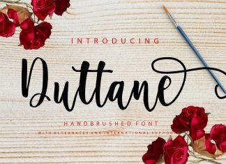 Duttane Script Font