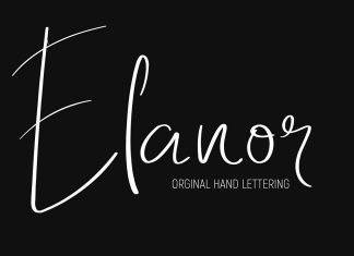 Elanor Script Font