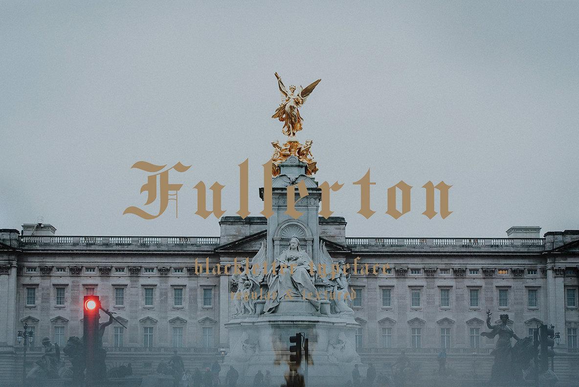 Fullerton Font