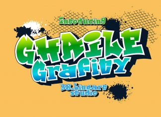 Ghaile Graffiti Regular Font