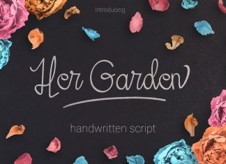 Her Garden Font