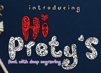 Hi Prety's Font