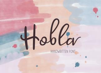 Hobla Script Font
