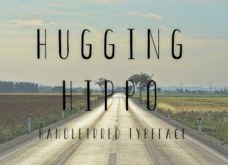 HUGGING HIPPORegular Font