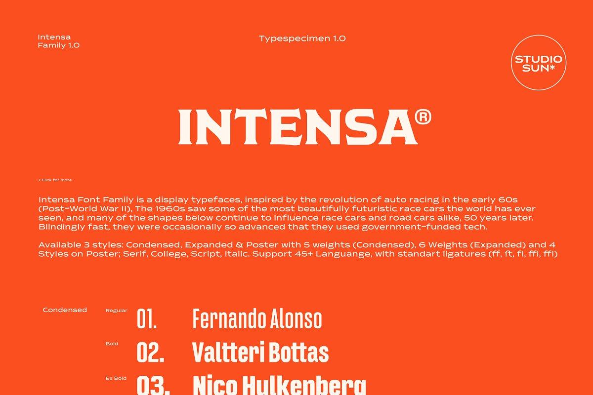 Intensa - Font Family - iFonts xyz