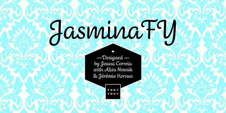 Jasmina FY Script Font