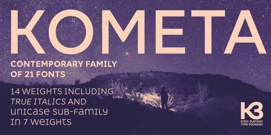 Kometa Font