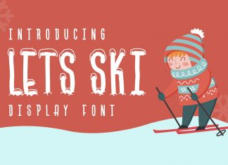 Lets Ski Other Font