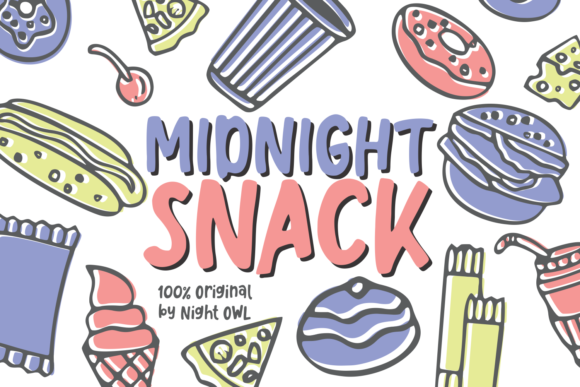 Like Snacking Font
