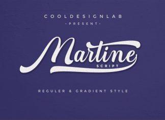 Martine Script Font