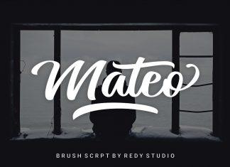 Mateo Script Font