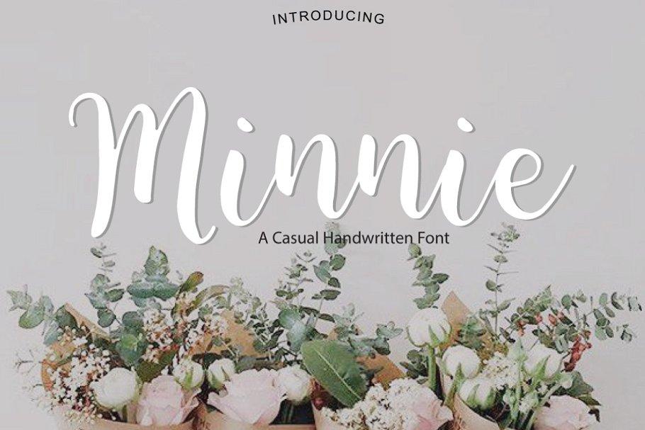Minnie   Script Font
