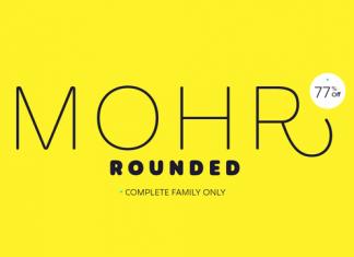 Mohr Rounded Font Family