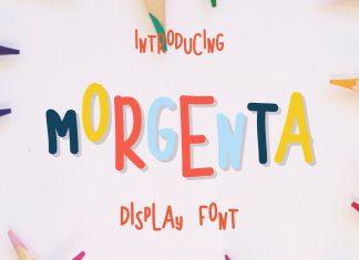 Morgenta Display Font