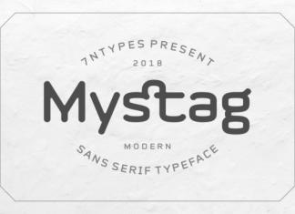 Mystag Font