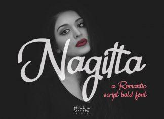 Nagitta Script Font