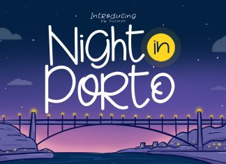 Night in Porto Other Font