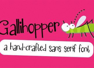 PN Gallihopper Regular Font
