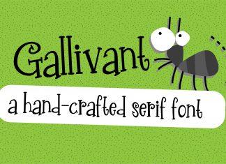 PN Gallivant Regular Font