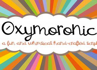 PN Oxymoronic Script Font