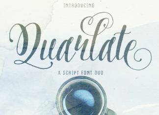 Quarlate Font Duo