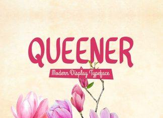 Queener Typeface Font