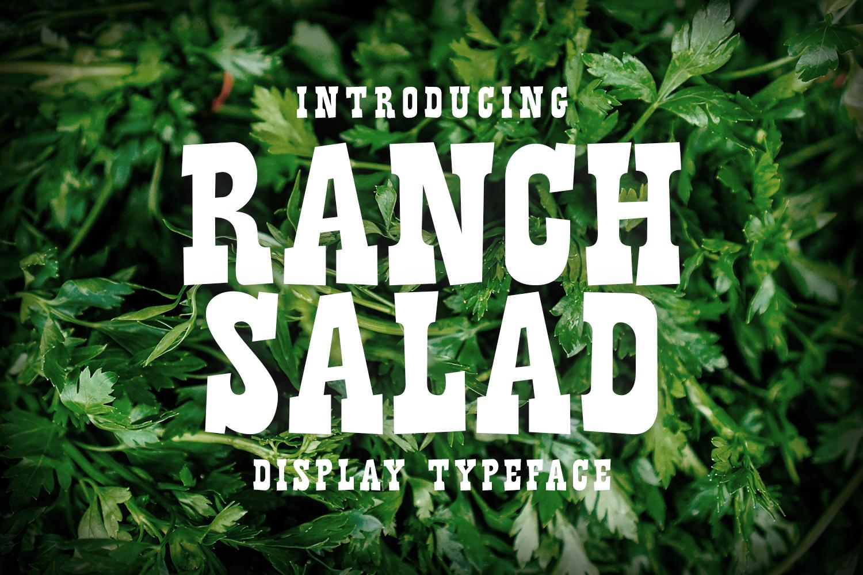 Ranch SaladOther Font