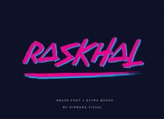 Raskhal Plus Extra Bonus Font