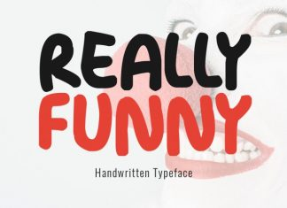 Really Funny Typeface Font