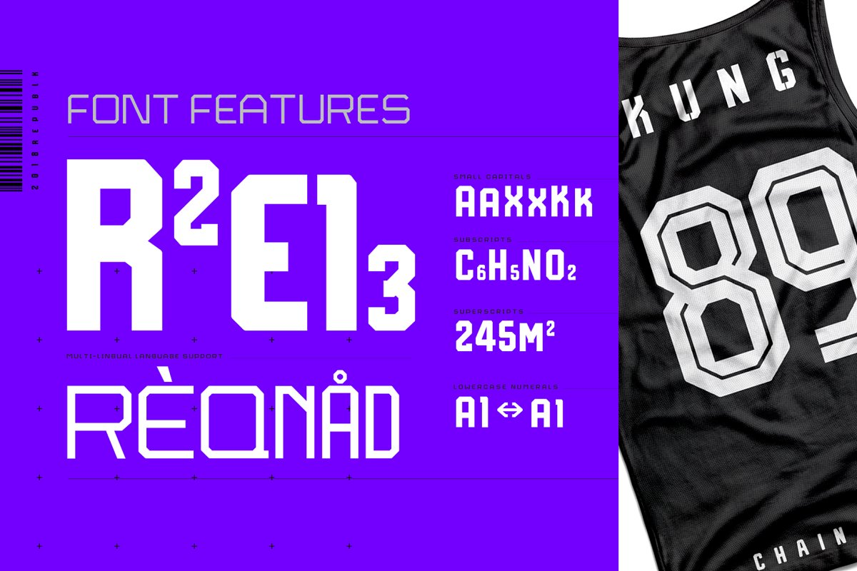 Reqnad Display Font Collection