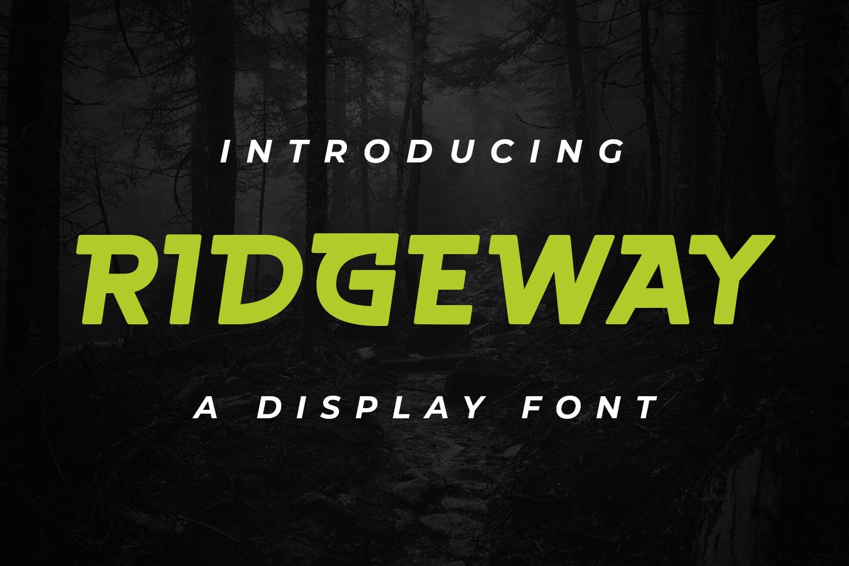 Ridgeway Regular Font